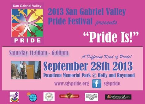 SGV Pride 2013