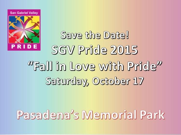 SGV Pride 2015